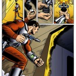 Blake Stone Comic Book Page